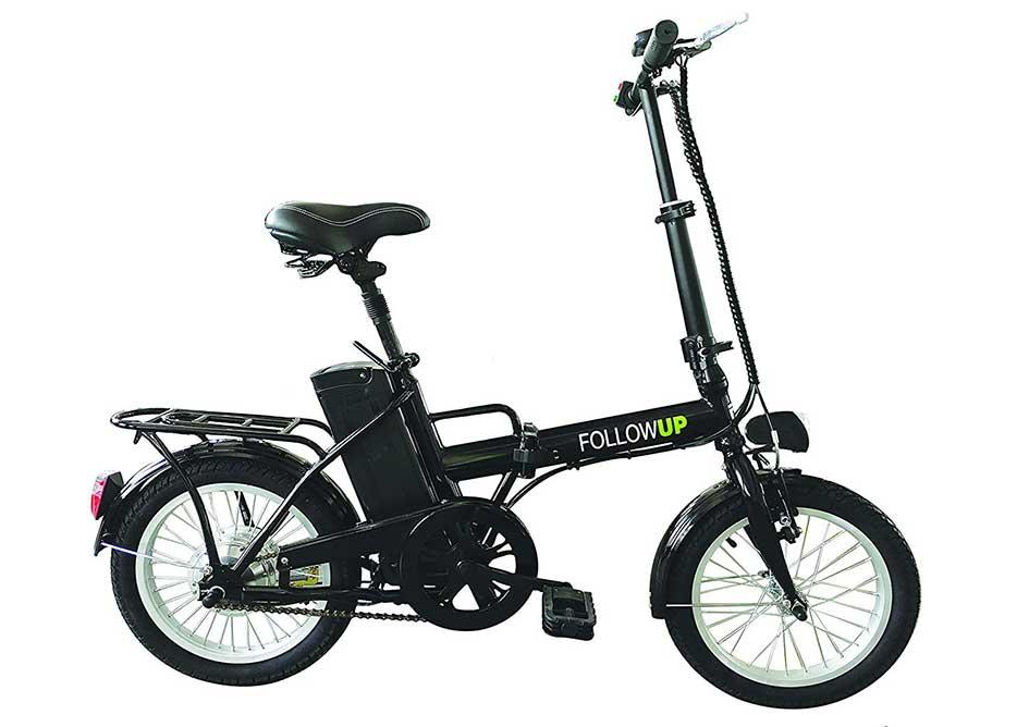 bicicleta electrica plegable decathlon