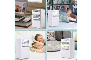 Comlife aire acondicionado portátil, mini-enfriador 3 en 1