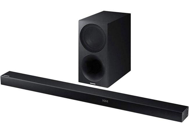 Samsung MS550 Color Negro Barra de Sonido inal/ámbrica y compacta