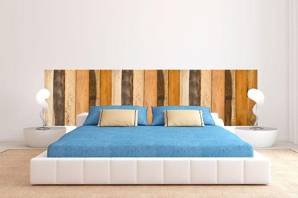 Cabeceros de cama de madera cabezales de madera - Cabeceros de cama en madera ...