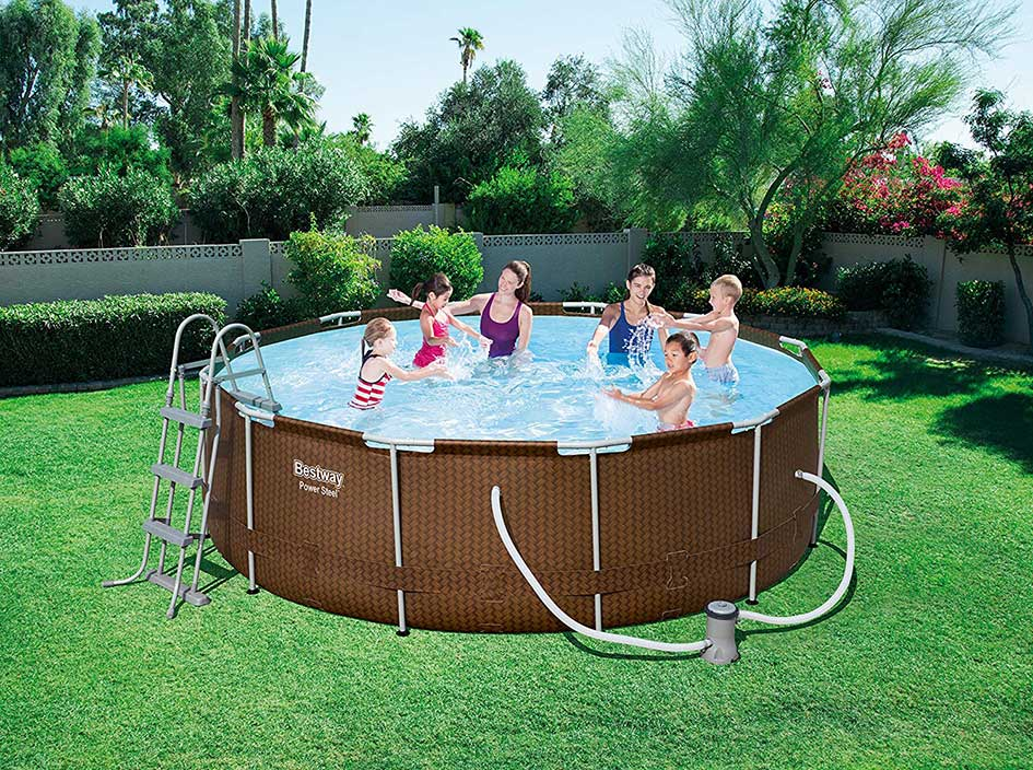 piscina-bestway-redonda