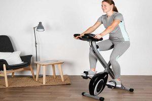 Bicicletas estáticas Decathlon | Bici estática plegable